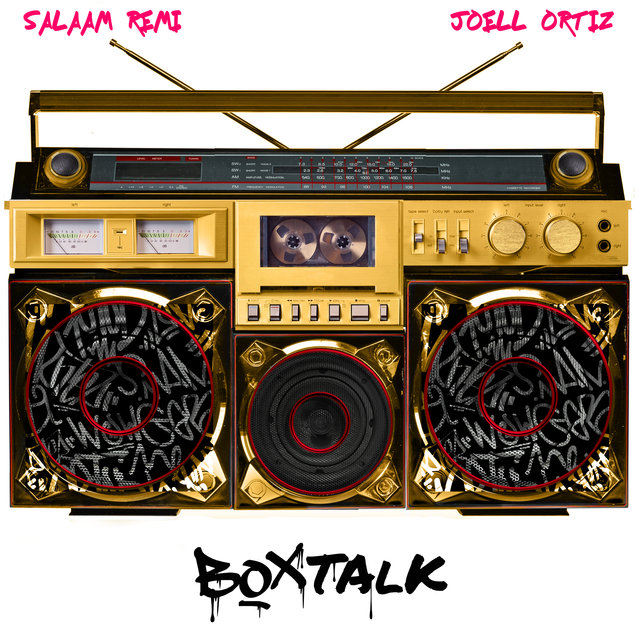 Cover art for album BoxTalk by Salaam Remi, Joell Ortiz