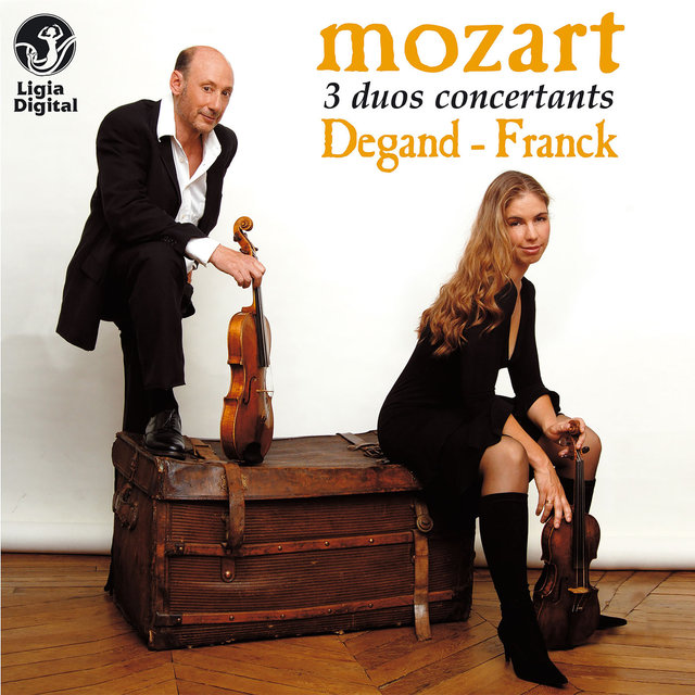 Mozart: 3 Duos for Violin and Viola