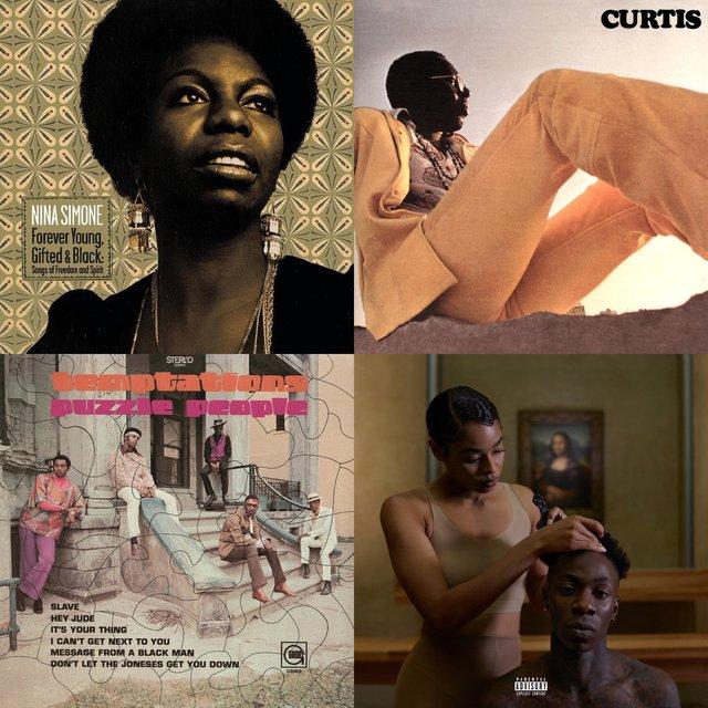 Cover art for album BLACK AF by User
