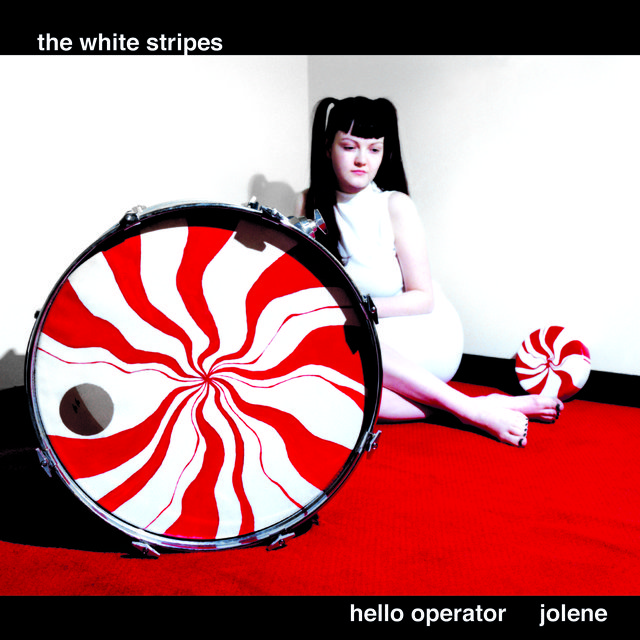 Cover art for album  by The White Stripes