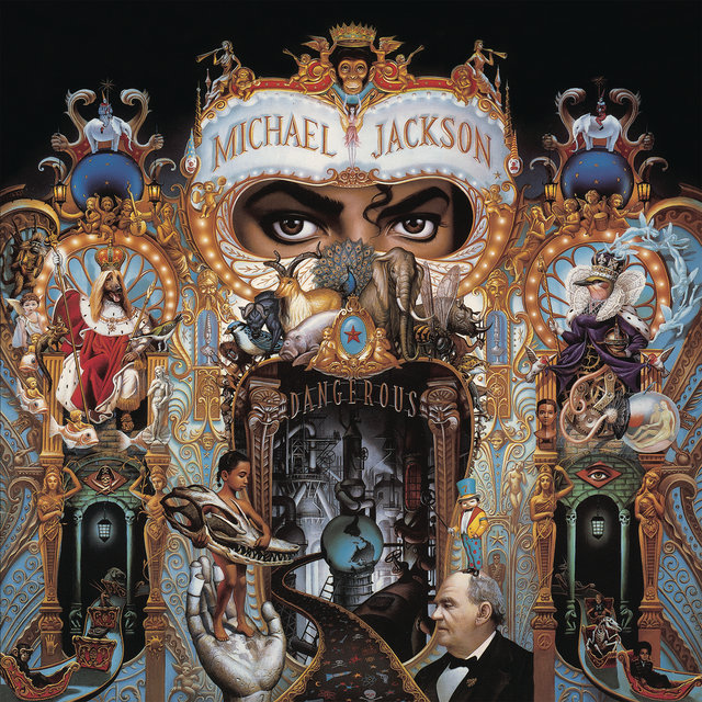 Cover art for album  by Michael Jackson