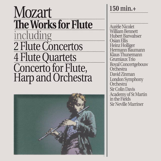 Mozart: The Works for Flute