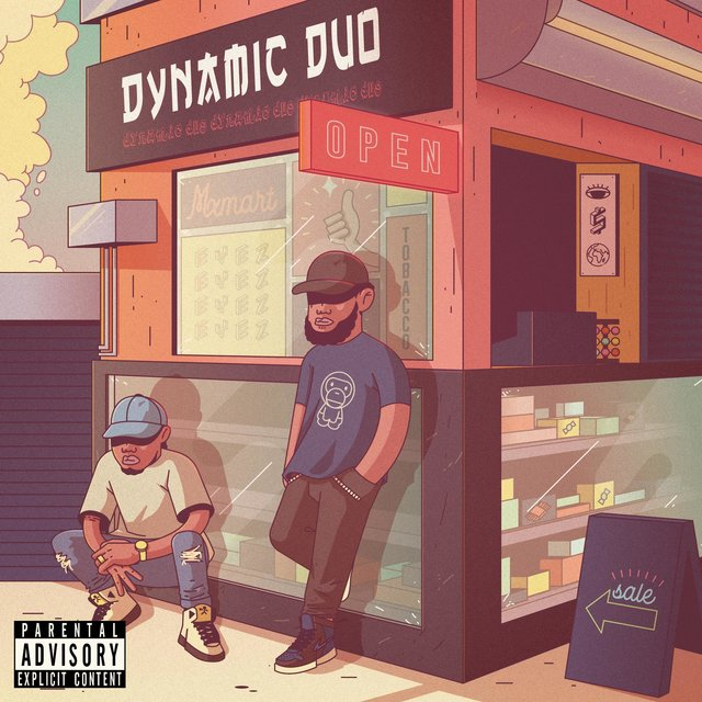 Cover art for album Dynamic DUO by Iso Indies