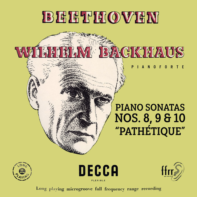"Beethoven: Piano Sonatas Nos. 8 ""Pathetique"", 9 & 10 (Mono Version)"