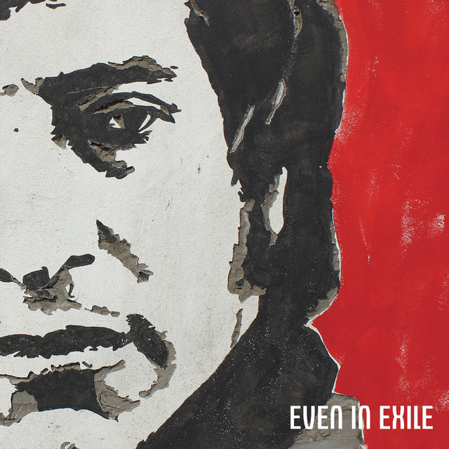 Cover art for album EVEN IN EXILE by James Dean Bradfield