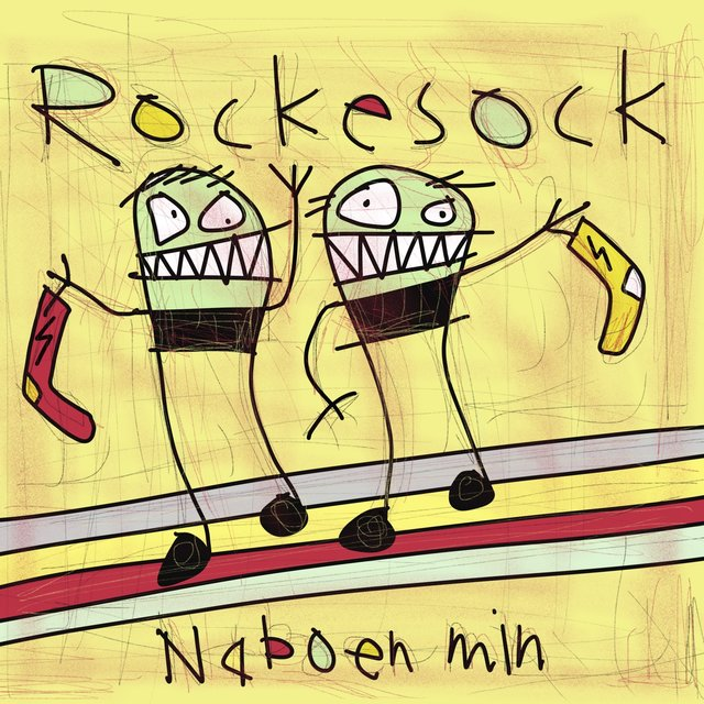 Cover art for album Rockesock by Naboen Min