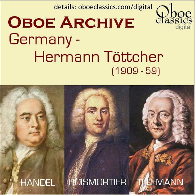 Oboe Archive - Hermann Tottcher