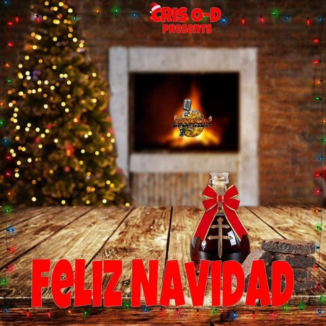 Cover art for album Feliz Navidad by Cris O-D