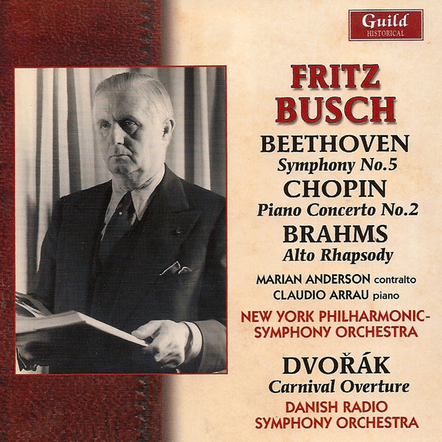 Fritz Busch - Beethoven, Chopin, Brahms - 1950