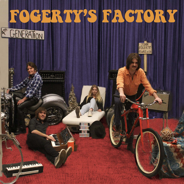 Cover art for album Fogerty's Factory by John Fogerty