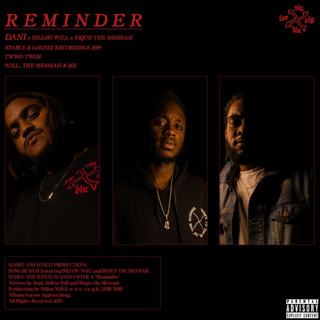 Reminder (feat. Dillon Will & Rique the Messiah)