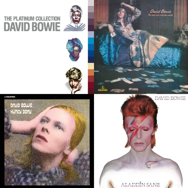 Cover art for album In Sheep's Clothing Selects: David Bowie by User