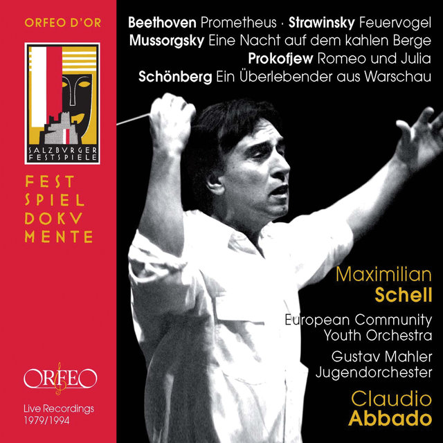Beethoven, Schoenberg, Stravinsky & Others: Works for Orchestra (Live)