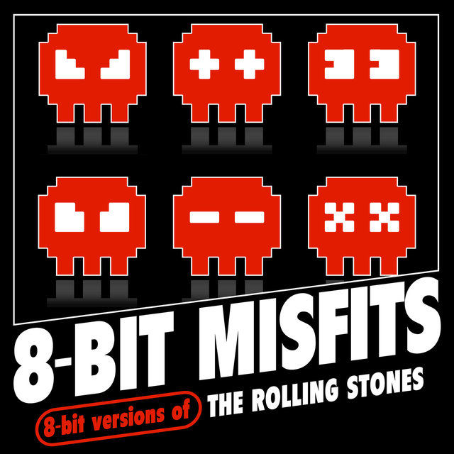 8-Bit Versions of The Rolling Stones