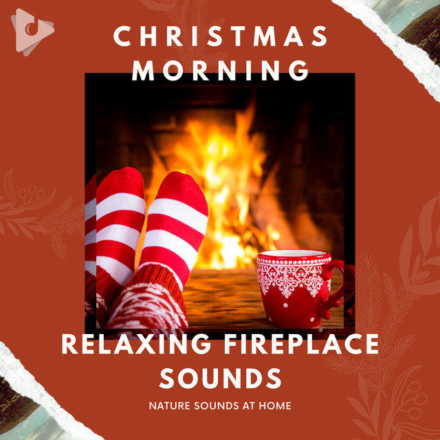 Christmas Morning Relaxing Fireplace Sounds