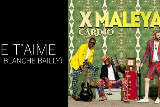 XMaleya - JE T'AIME (FT BLANCHE BAILLY)