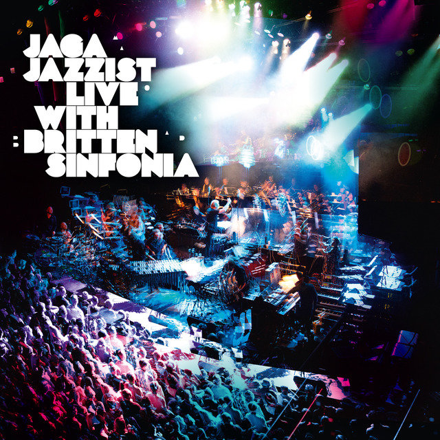 Cover art for album Live With Britten Sinfonia by Jaga Jazzist