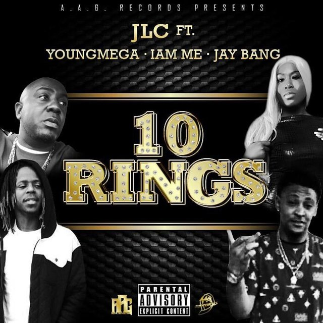Cover art for album Ten Rings (feat. Iam Me, Youngmega & Jay Bang) by Jlc