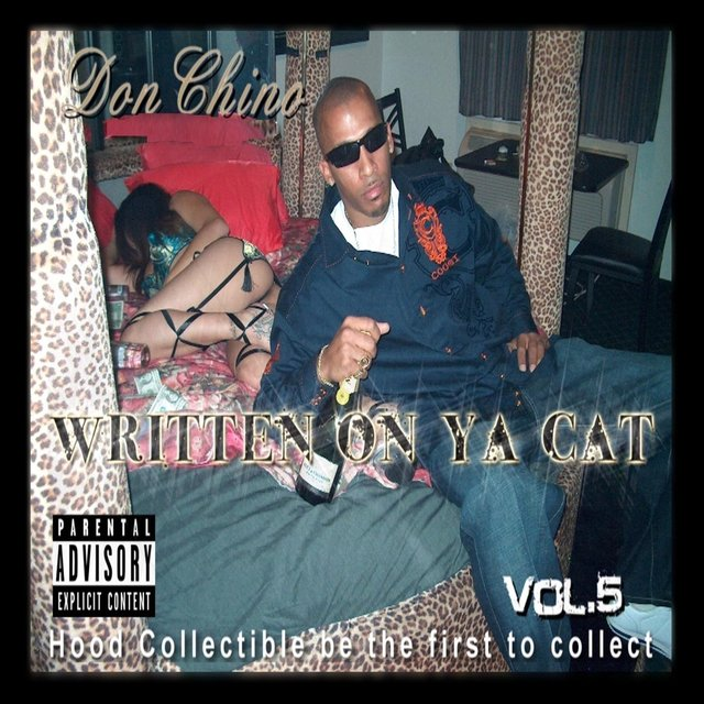 Written on Ya Cat Vol. 5 Hood Collectible Be the First to Collect