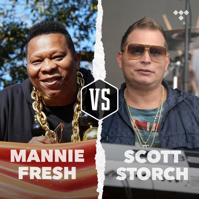 Cover art for album Mannie Fresh vs. Scott Storch by TIDAL