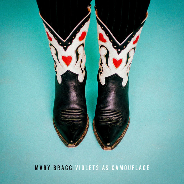 Cover art for album Violets as Camouflage by Mary Bragg