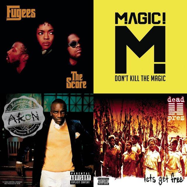 Cover art for album Sampling Bob Marley: A Playlist by User
