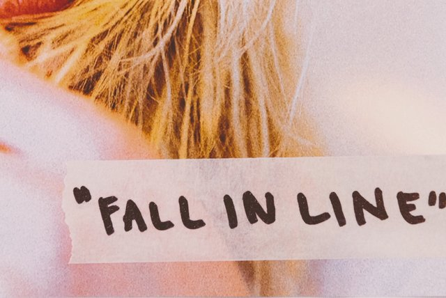 Fall In Line (Lyric Video)