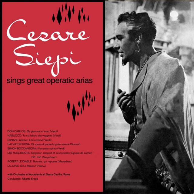 Cesare Siepi Sings Great Operatic Arias