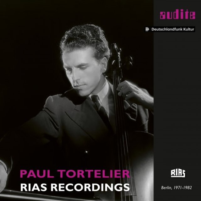 Paul Tortelier: RIAS Recordings (Cello Works by Beethoven, Mendelssohn, Brahms, Bach, Fauré, Paganini, Schumann, Casella, Kodály & Tortelier)