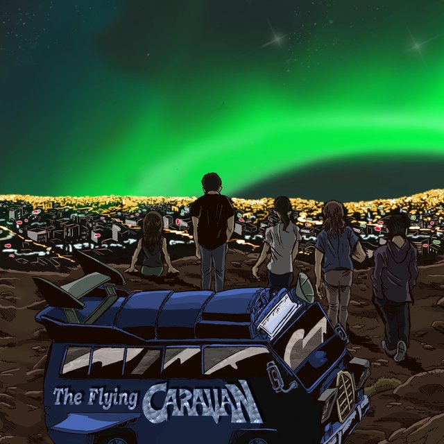 Cover art for album I Just Wanna Break Even by The Flying Caravan