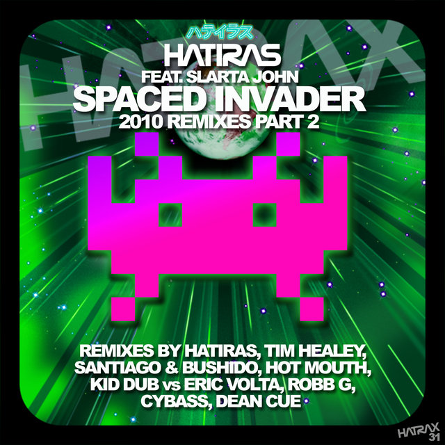Spaced Invader Remixes, Pt. 2