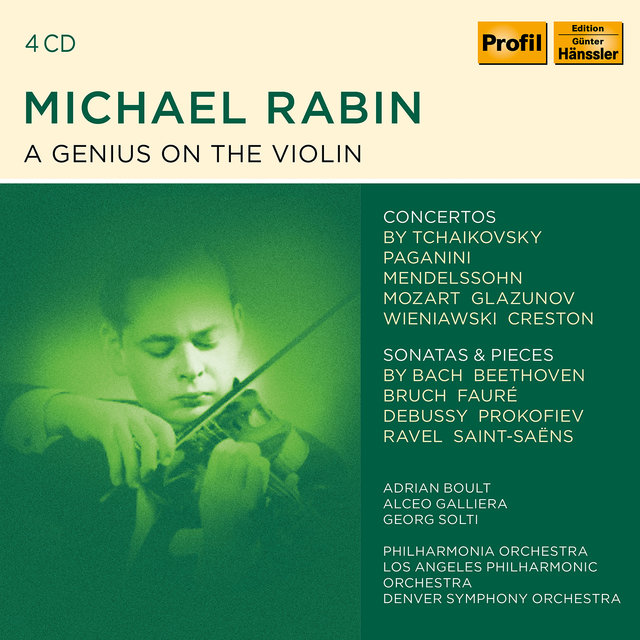 Michael Rabin - A Genius On The Violin