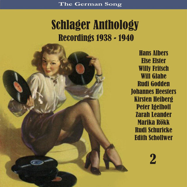 The German Song / Schlager Anthology / Recordings 1938 - 1940, Vol. 2