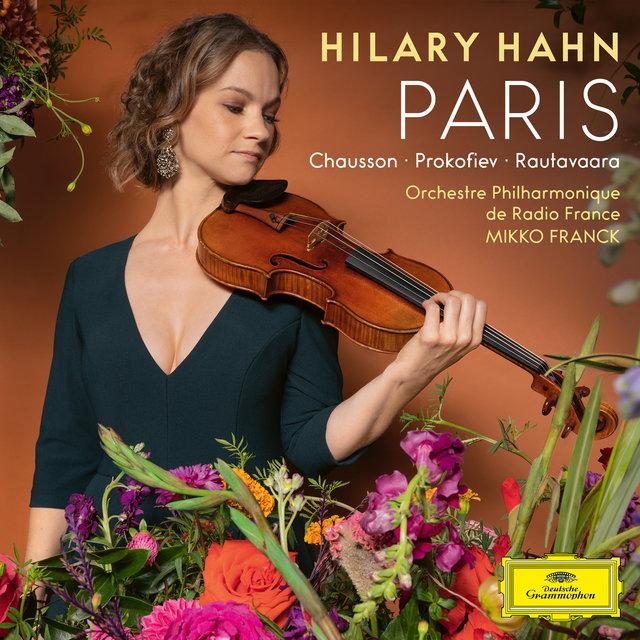 Cover art for album Paris by Hilary Hahn, Orchestre philharmonique de Radio France, Mikko Franck