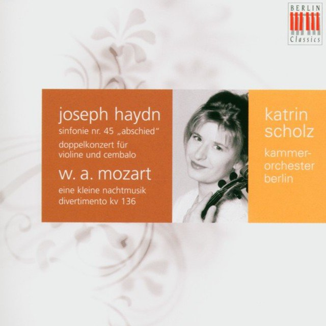 Haydn: Double Concerto for Violin, Harpsichord and Strings & Symphony No. 45