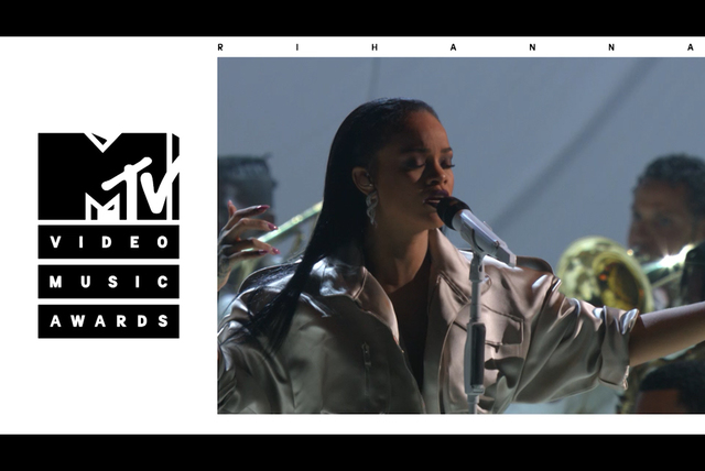 Stay / Love On The Brain / Diamonds (Live from the 2016 MTV VMAs)