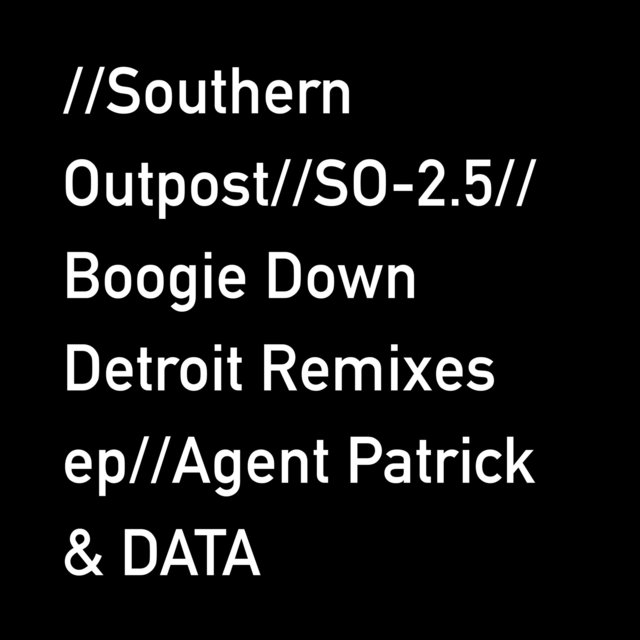Boogie Down Detroit Remixes