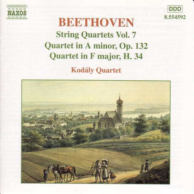 Beethoven: String Quartets Op. 132 and H. 34