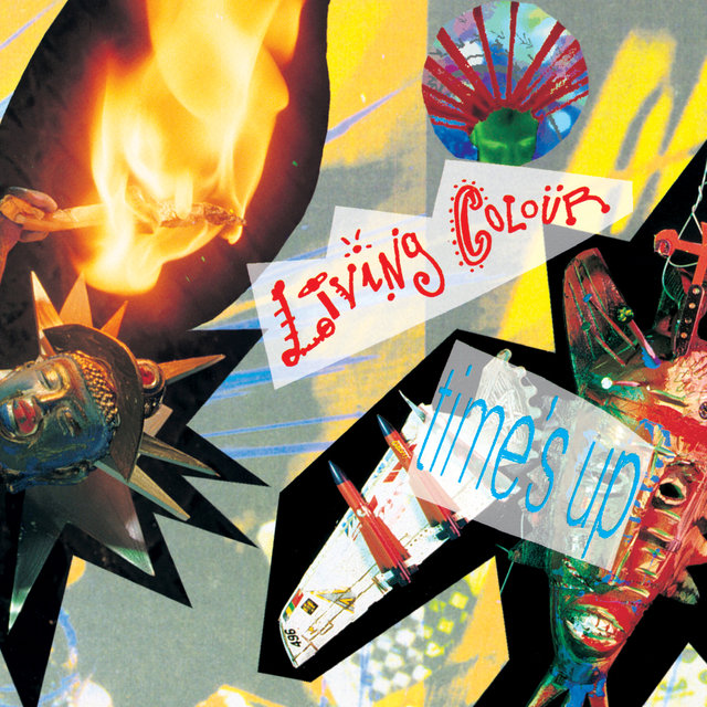 Cover art for album  by Living Colour