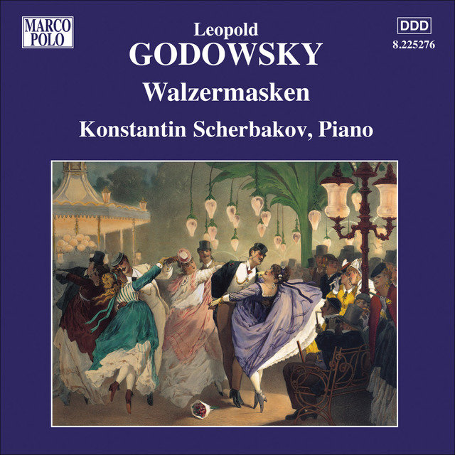 GODOWSKY: Piano Music, Vol. 10 - Walzesmasken