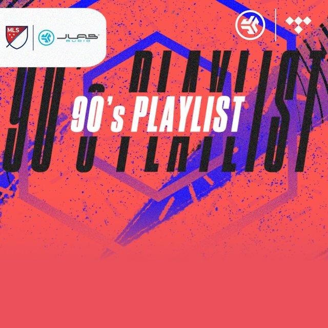 Cover art for album JLab Audio: '90s Playlist by JLab Audio