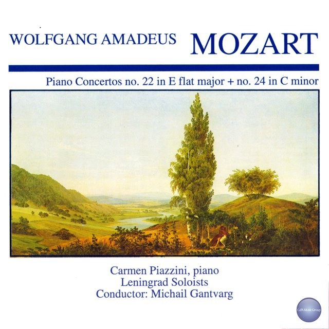 Mozart: Concerto for Piano and Orchestra No. 22 in E Flat Major, KV 482 - Concerto for Piano and Orchestra No. 24 in C Minor, KV 491