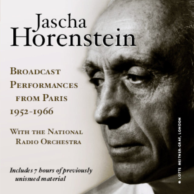 Jascha Horenstein: Broadcast Performances from Paris, 1952-1966