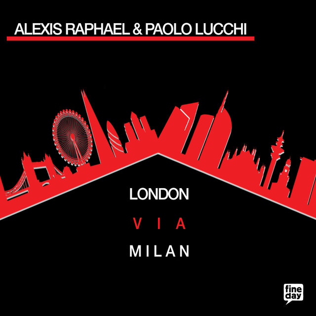 Cover art for album London Via Milan by Alexis Raphael, Paolo Lucchi