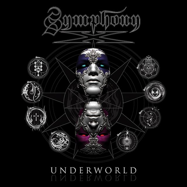 Cover art for album Underworld by Symphony X
