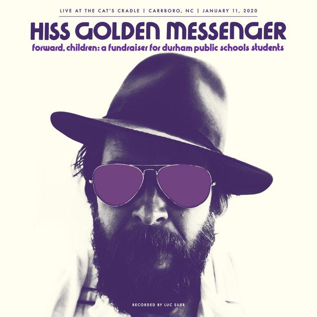 Cover art for album Forward, Children: A fundraiser for Durham Public Schools students by Hiss Golden Messenger