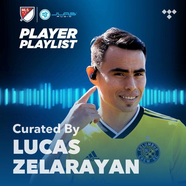 Cover art for album MLS  Lucas Zelarayan Player Playlist by JLab Audio