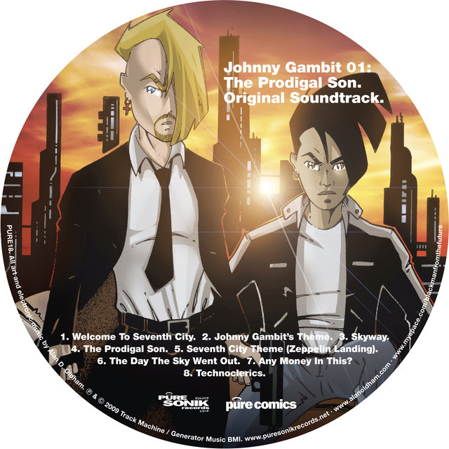 Johnny Gambit 01: The Prodigal Son Original Soundtrack