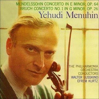 Mendelssohn & Bruch: Violin ConcertosYehudi Menuhin, Philharmonia  Orchestra, Berliner Philharmoniker