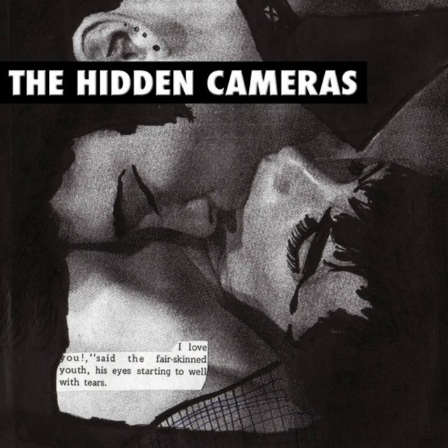 Cover art for album Gay Goth Scene by The Hidden Cameras